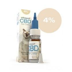 Huile CBD 4% pour chats -...