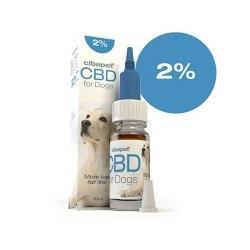 Huile CBD 2% pour chiens -...